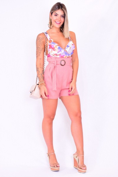 CROPPED MIRROR  -ROSA
