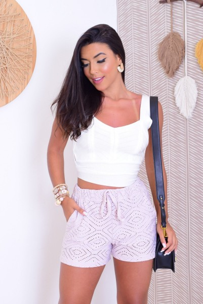 SHORT LESE - LILAS